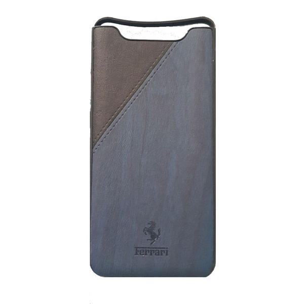 کاور طرح چرمی مدل A600 مناسب برای گوشی موبایل سامسونگ Galaxy A80