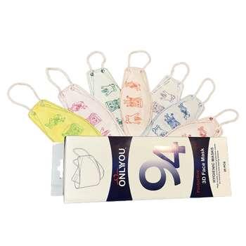 ماسک تنفسی کودک اونلی یو مدل CH3D بسته 25 عددی