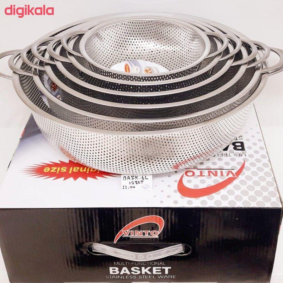 آبکش مدل Basket مجموعه ۶ عددی main 1 3