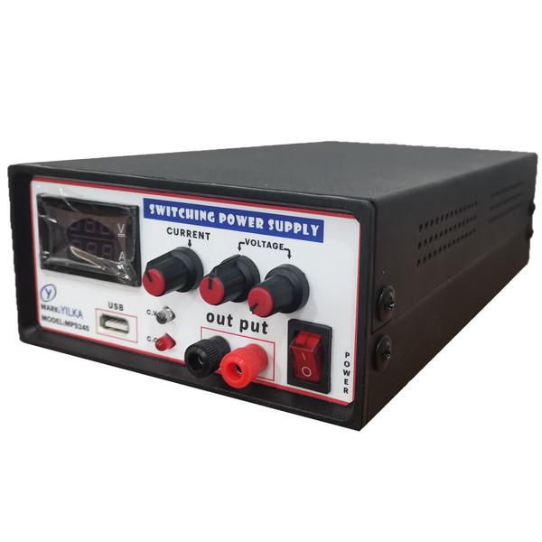منبع تغذیه متغیر 30 ولت 5 آمپر یلکا مدل mps345