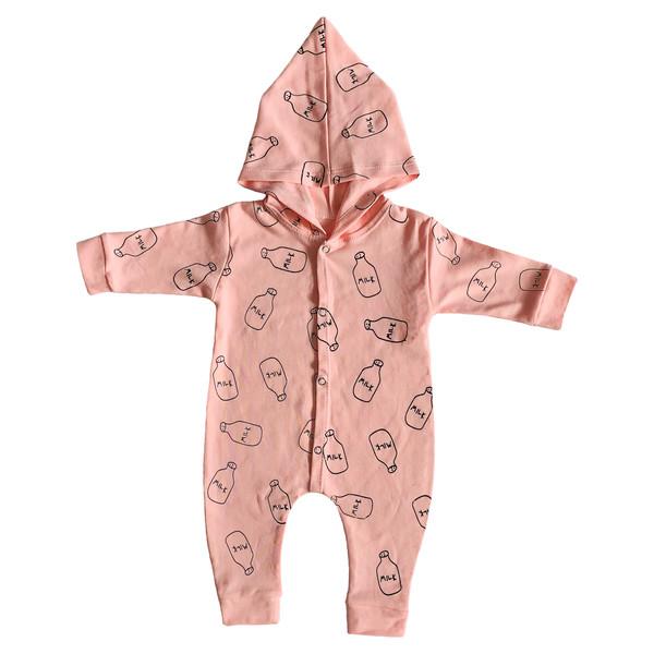 سرهمی نوزادی طرح Milk کد FF-163
