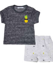 ست تی شرت و شلوارک پسرانه فیورلا مدل 31038 -  - 1