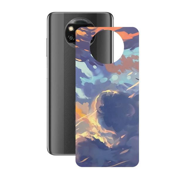 برچسب پوششی راک اسپیس طرح Color Full مناسب برای گوشی موبایل  شیائومی POCO X3 Pro