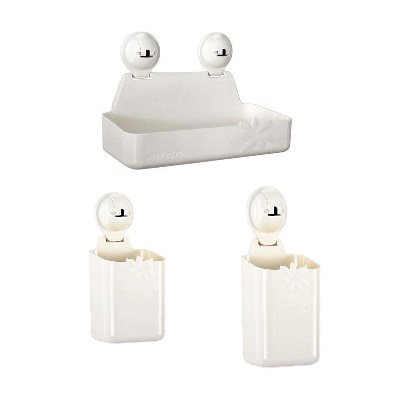 باکس حمام فیکا مدل فلورا مجموعه سه عددی