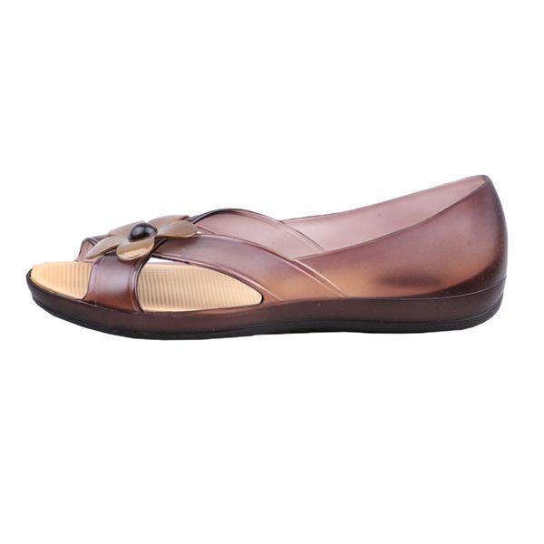 کفش ساحلی زنانه مدل گل کد A1061