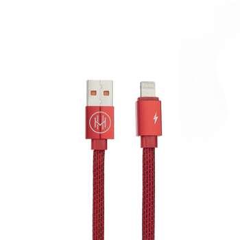 کابل تبدیل USB به لایتنینگ اچ اند ام مدل DCCTL طول 1 متر