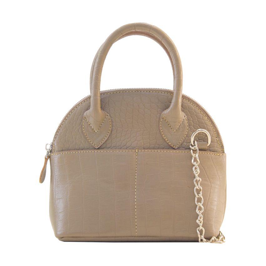 کیف دوشی زنانه چرم آرا مدل d076 -  - 21