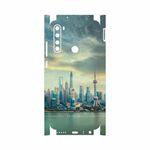 برچسب پوششی ماهوت مدل Shanghai City-FullSkin مناسب برای گوشی موبایل شیائومی Redmi Note 8