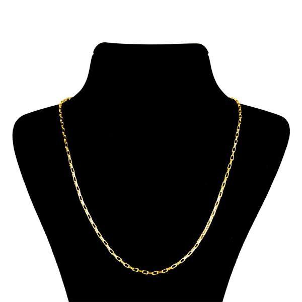 زنجیر طلا 18 عیار زنانه آلند مدل BZZ3
