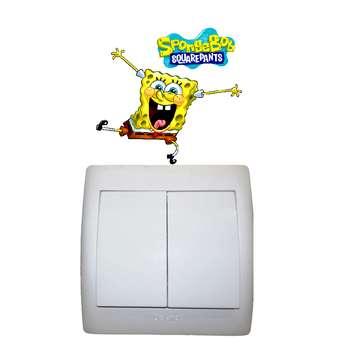 استیکر مستر راد طرح باب اسفنجی کد 004 SpongeBob