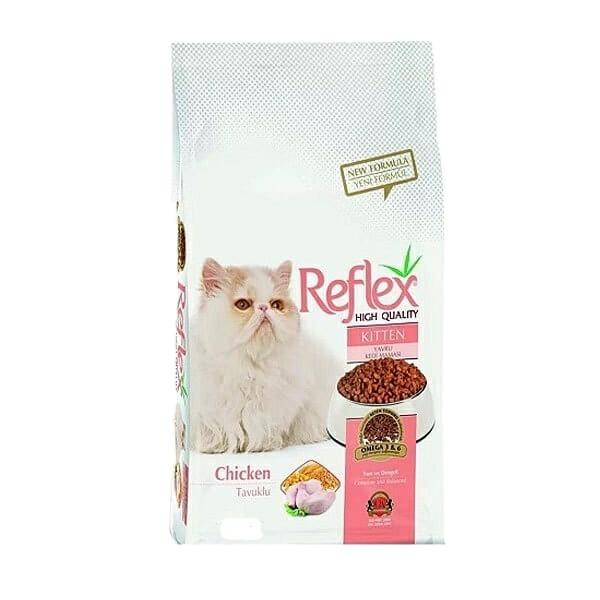 غذای خشک گربه رفلکس مدل کیتن وزن 3 کیلوگرم