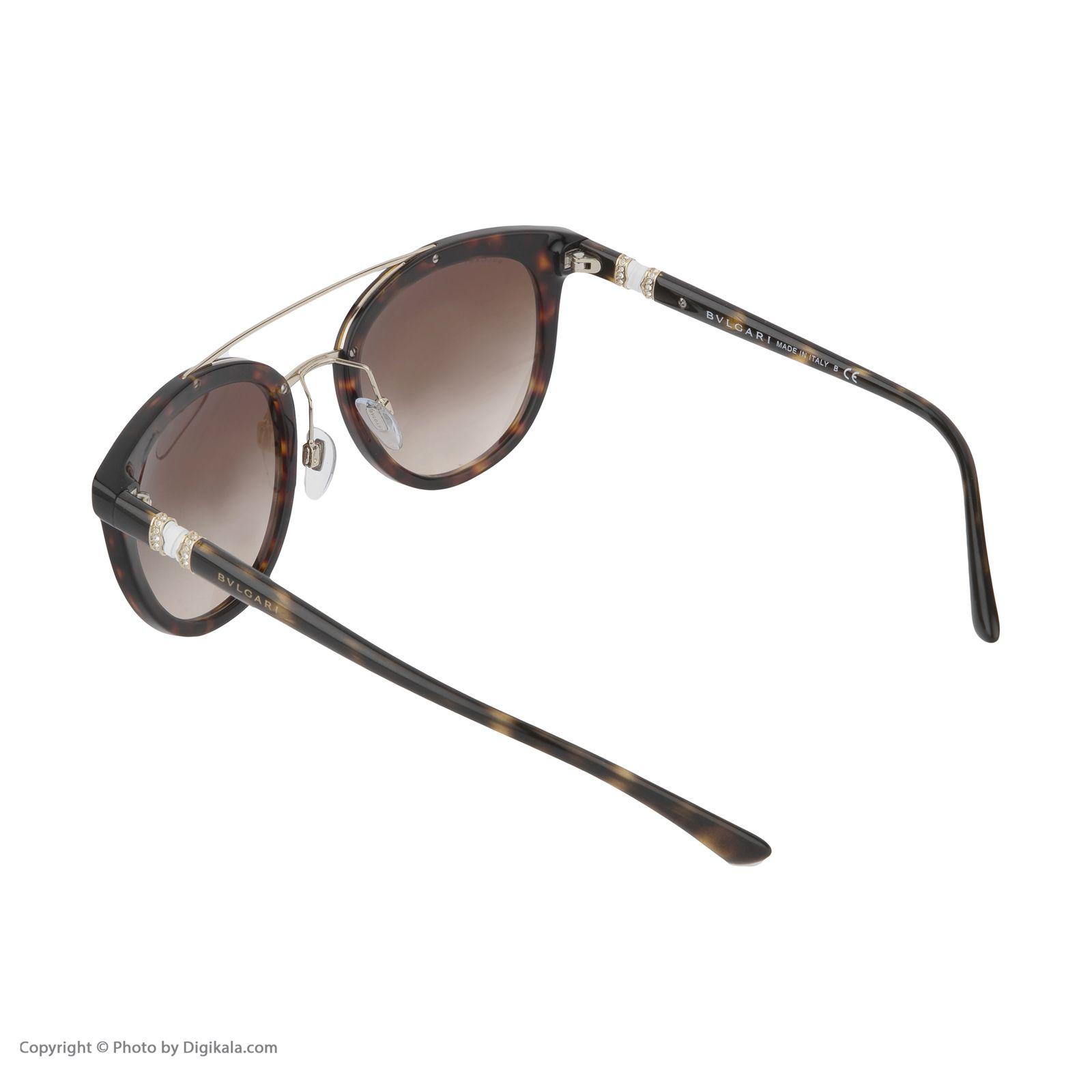 عینک آفتابی زنانه بولگاری مدل BV8184B 50413 -  - 5