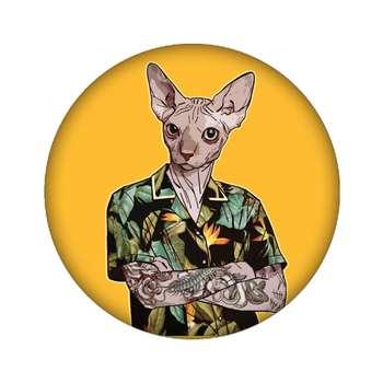 پیکسل مدل گربه کد 479