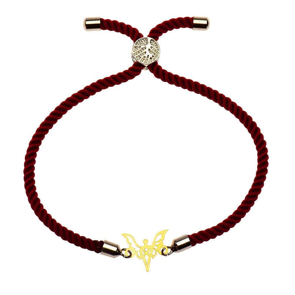 دستبند طلا 18 عیار زنانه گالری مرجان مدل 1061