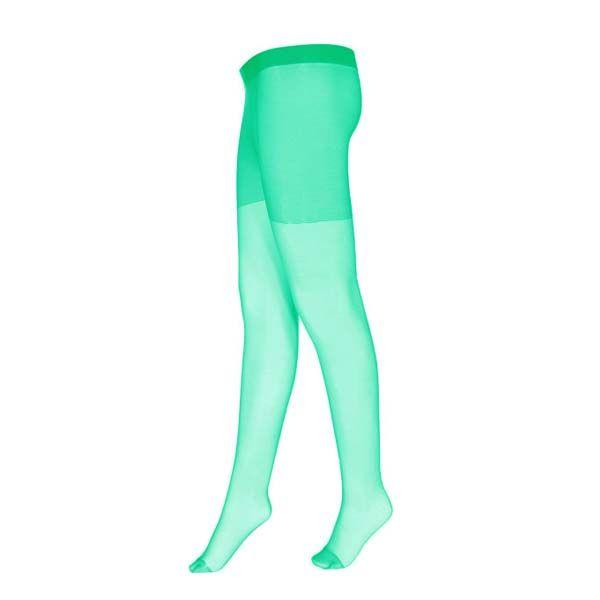 جوراب شلواری مدل Z107 رنگ سبز آبی -  - 3