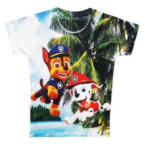 تی شرت پسرانه طرح سگ های نگهبان کد S80