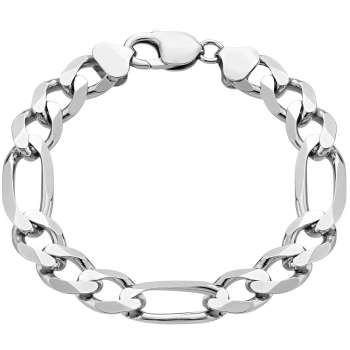 دستبند نقره مردانه گالری ظهیرالدینی مدل BRC-01