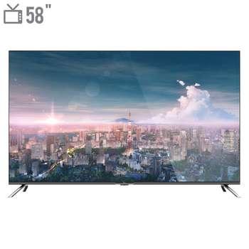 تلویزیون ال ای دی هوشمند جی پلاس مدل GTV-58LU722S سایز 58 اینچ