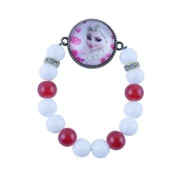 دستبند دخترانه طرح السا کد 2035