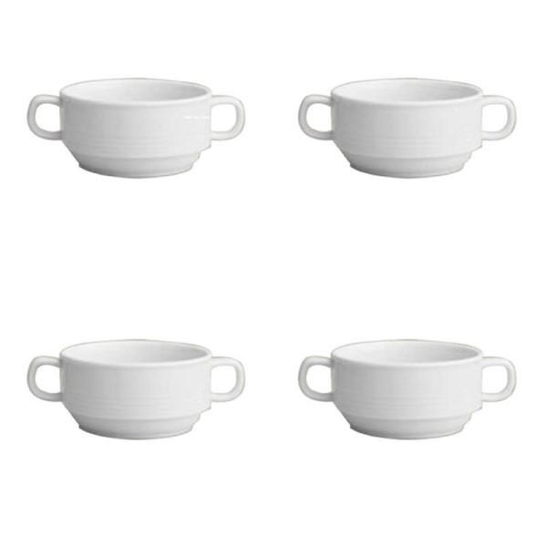 کاسه سوپ خوری کد 12-279 بسته 4 عددی