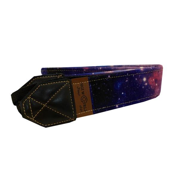 بند گردنی دوربین عکاسی دنیای دیجیتال طرح کهکشان کد 04