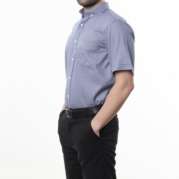پیراهن آستین کوتاه مردانه زی سا مدل 1531406ML59