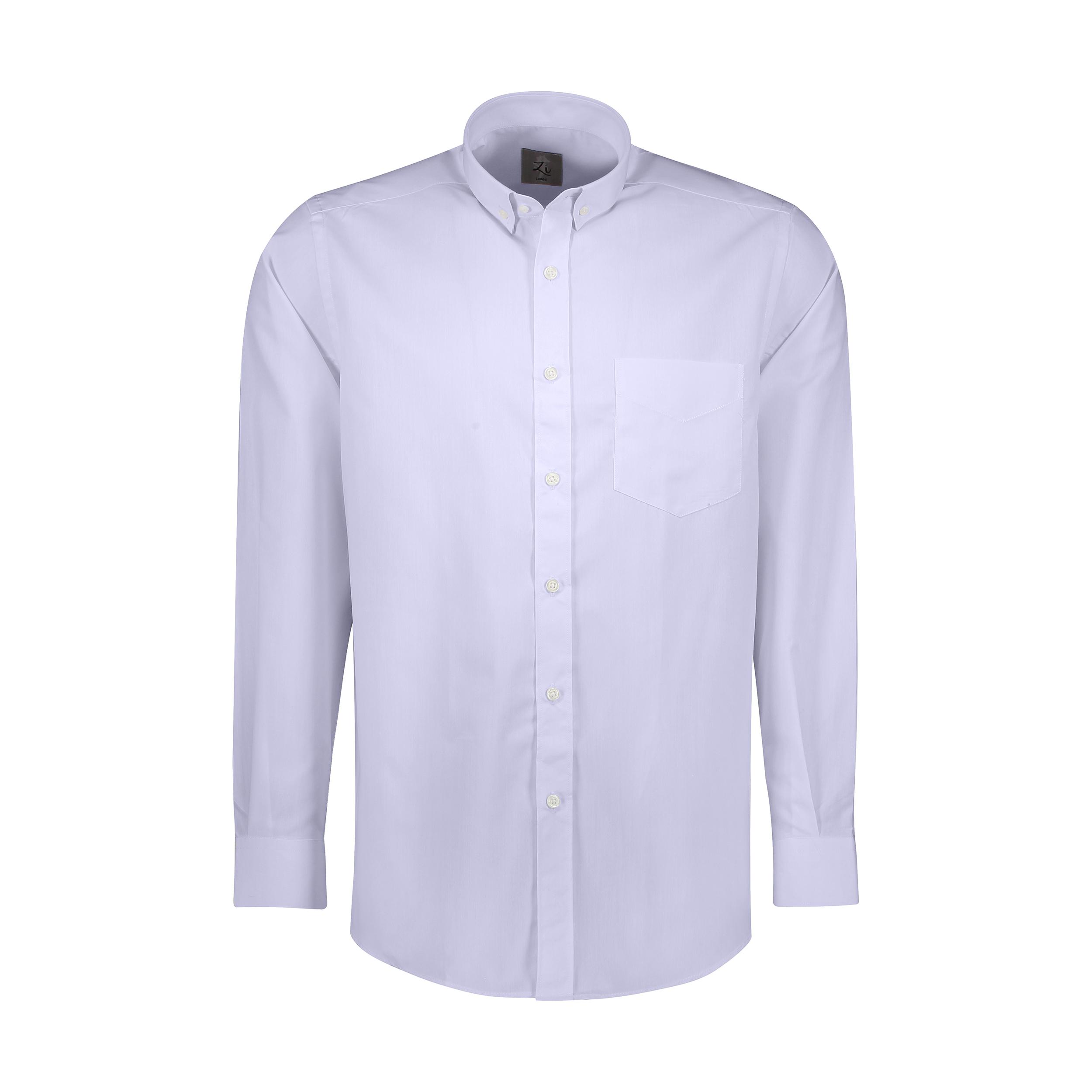 پیراهن آستین بلند مردانه زی مدل 153139260