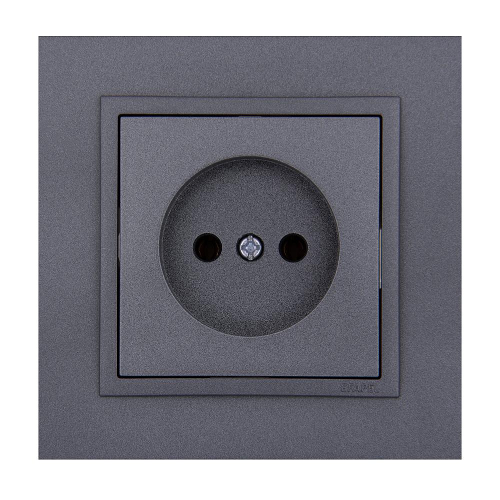 پریز برق ایفاپل مدل LOGUS90 ANIMATO کد 90910TSS/21121/90621