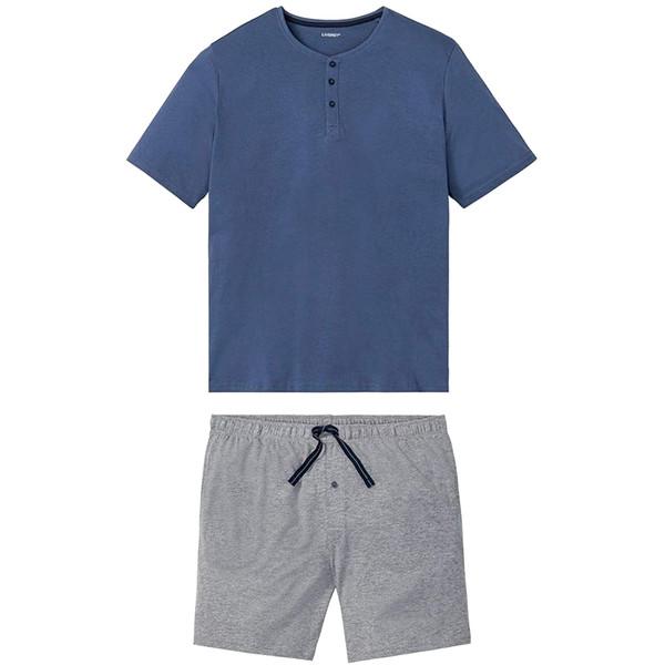 ست تی شرت و شلوارک مردانه لیورجی مدل LV02