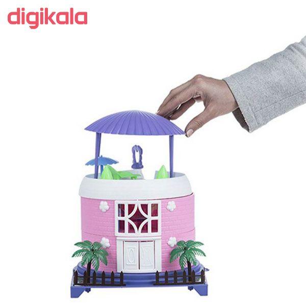 اسباب بازی خانه عروسکی مدل کلبه بهار main 1 1
