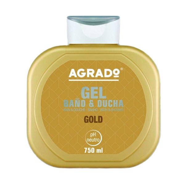 شامپو بدن آگرادو مدل Gold neutro حجم 750 میلی لیتر