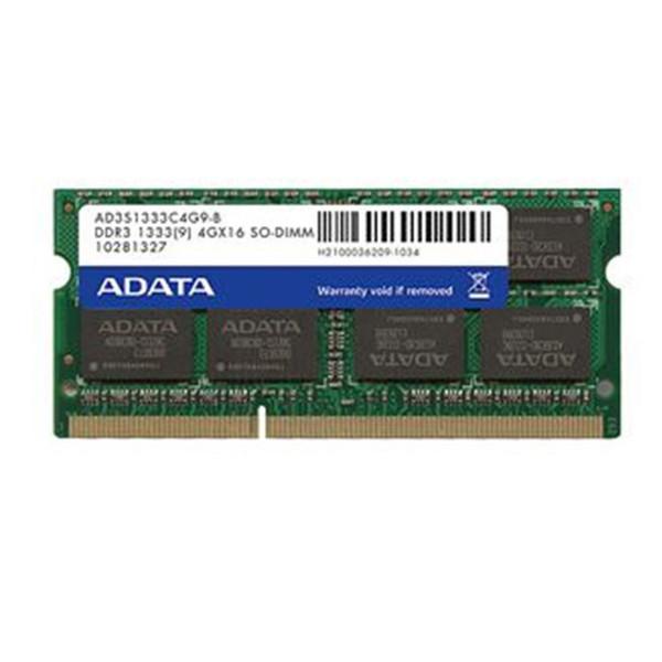 رم لپ تاپ ای دیتا مدل Premier DDR3 1333MHz ظرفیت 4 گیگابایت