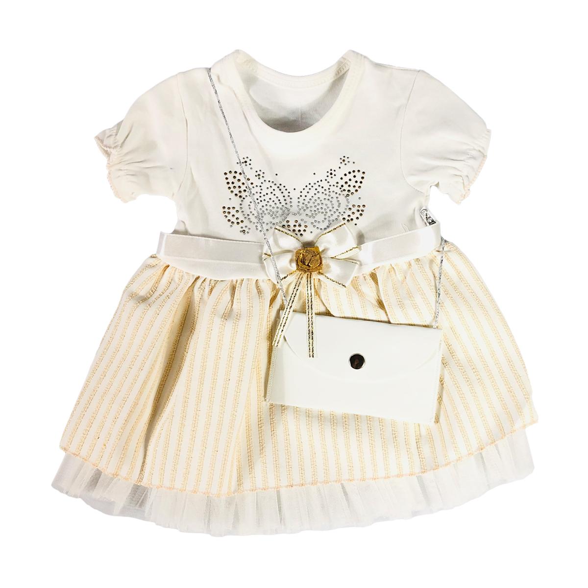 پیراهن نوزادی دخترانه مدل 269