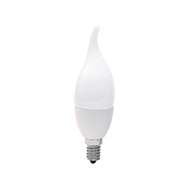لامپ ال ای دی 7 وات روشنایی آیین کد 77890184 پایه E14