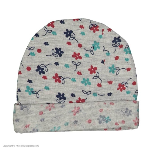 ست کلاه و دستکش نوزادی کد 2036