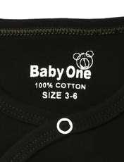 ست 3 تکه لباس نوزادی بی بی وان مدل گربه کد 486 -  - 8