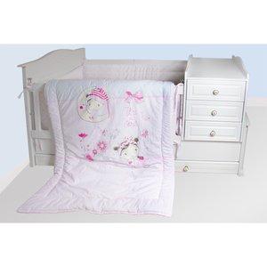 سرویس خواب 7 تکه نوزاد صبااو مدل آیسل