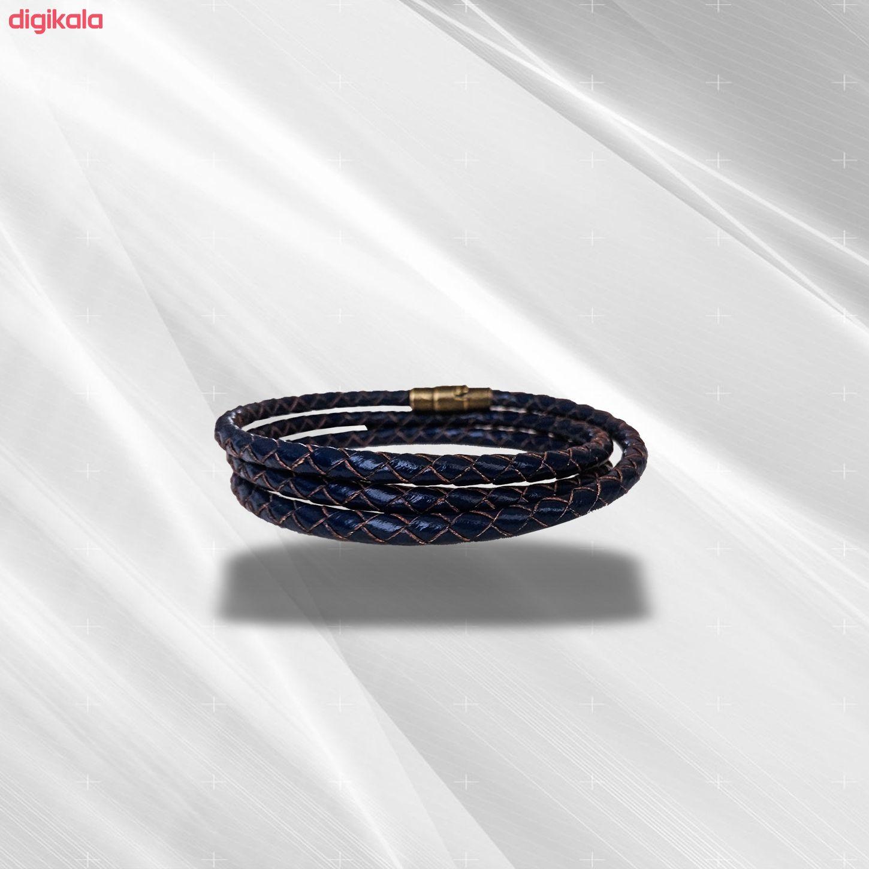 دستبند چرم وارک مدل رادین مدل rb309 main 1 4