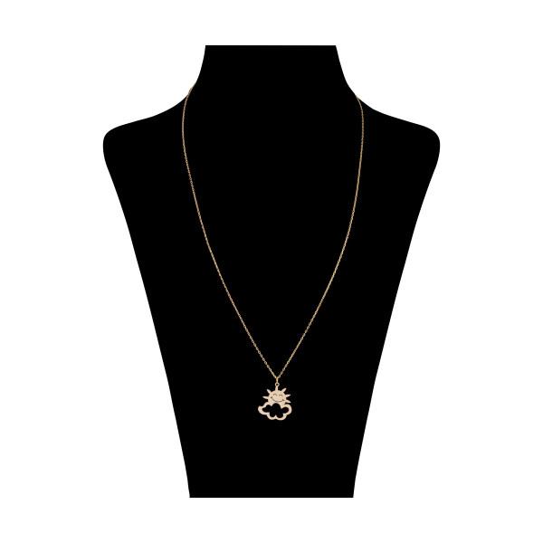 گردنبند طلا 18 عیار زنانه نیوانی مدل N1037
