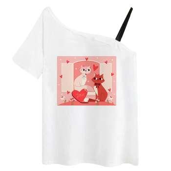 تی شرت آستین کوتاه زنانه مدل RR991106-003