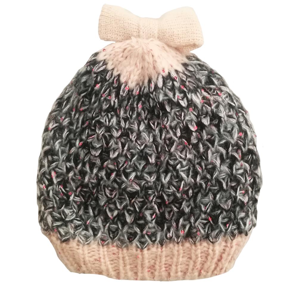کلاه بافتنی دخترانه کد 927