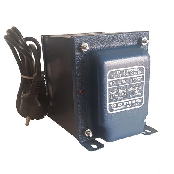 ترانس تبدیل 220 به 110 تاد سیستم مدل SD-42SC
