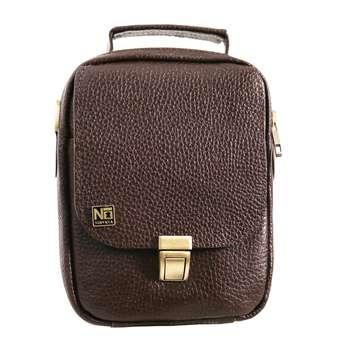 کیف دوشی مردانه چرم نیروانا مدل A495