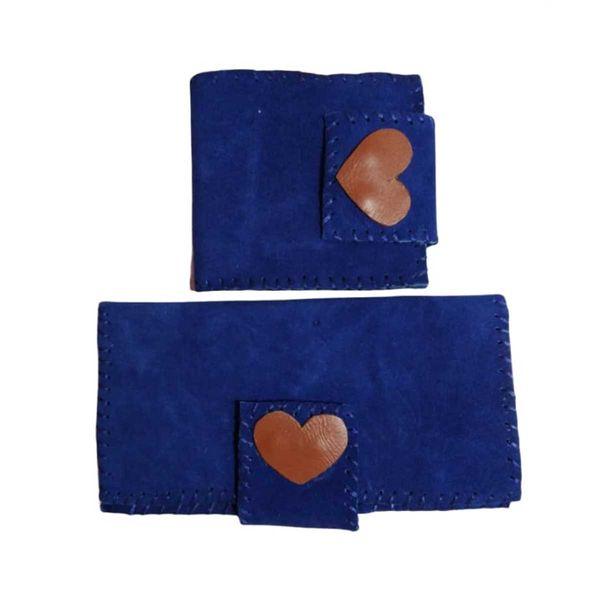 کیف پول مدل قلب کد 13 مجموعه 2 عددی