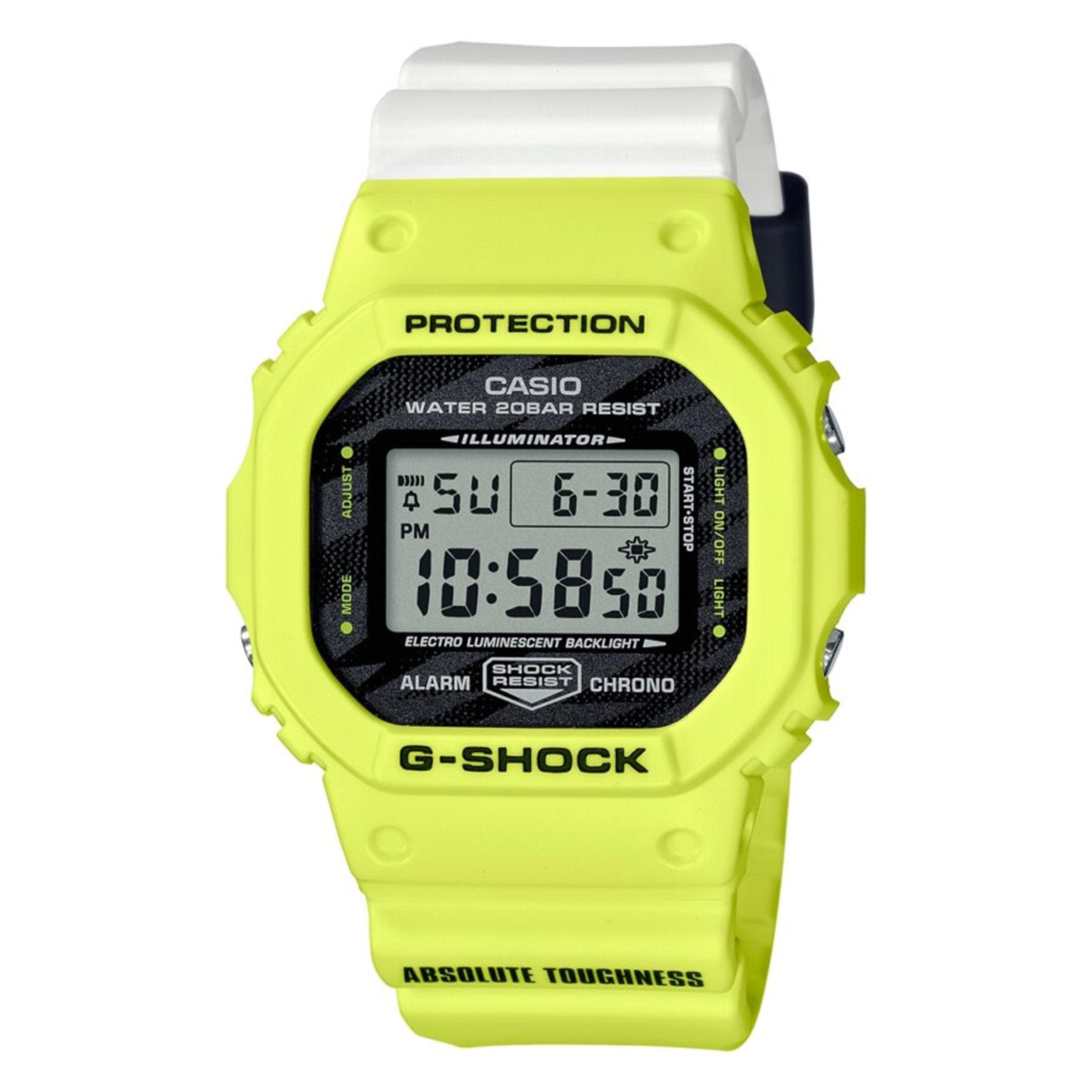 ساعت مچی دیجیتال مردانه کاسیو مدل DW-5600TGA-9DR
