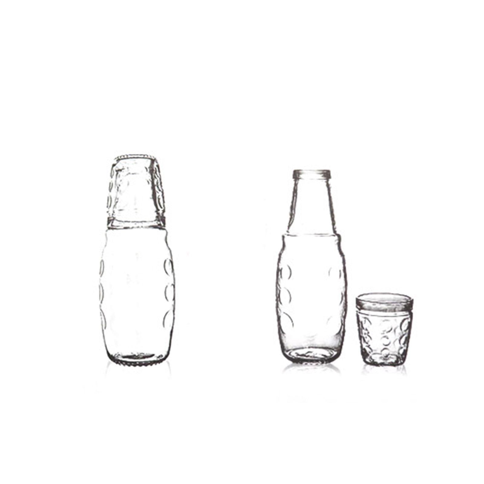 سرویس پارچ و لیوان 2 پارچه مدل Elegant کد 1