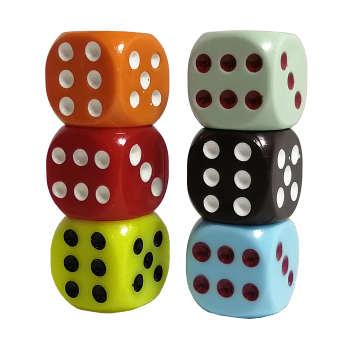 تاس بازی کد ATY04 مجموعه 6 عددی