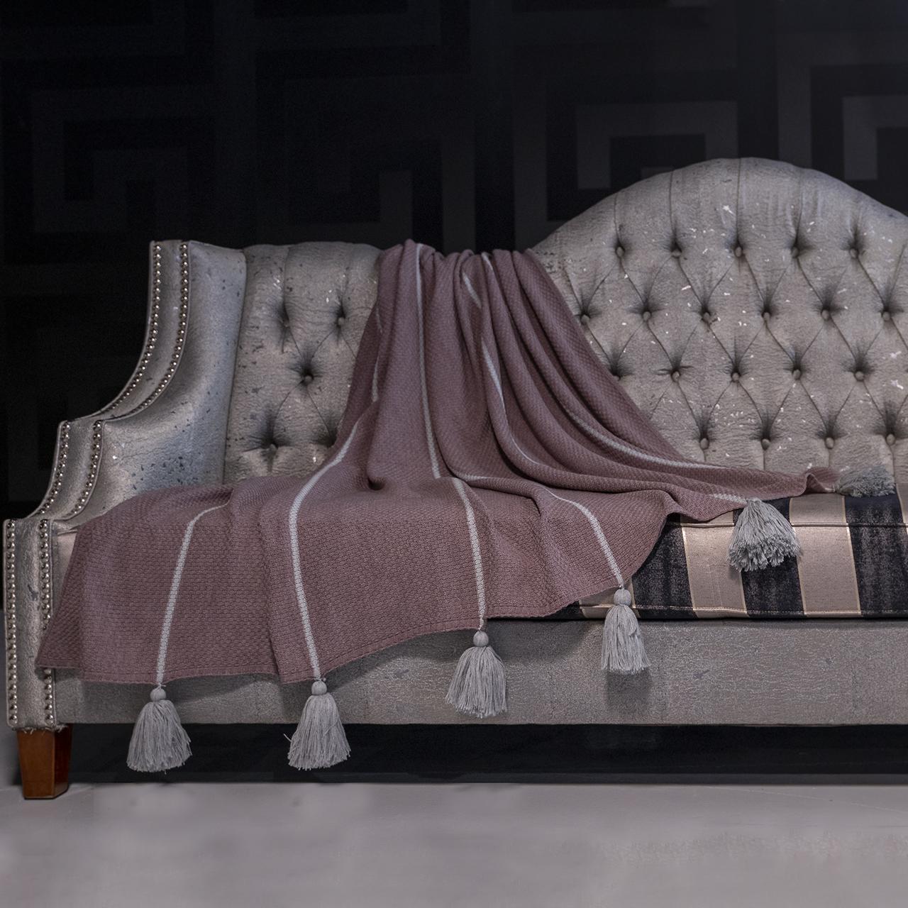 شال مبل و تخت مدل زبرا سایز 140x180 سانتیمتر