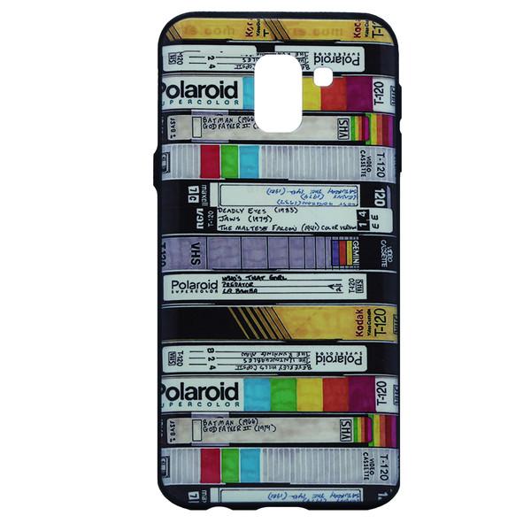کاور  طرح نواری مدل RB-01 مناسب برای گوشی موبایل سامسونگ Galaxy j6 2018
