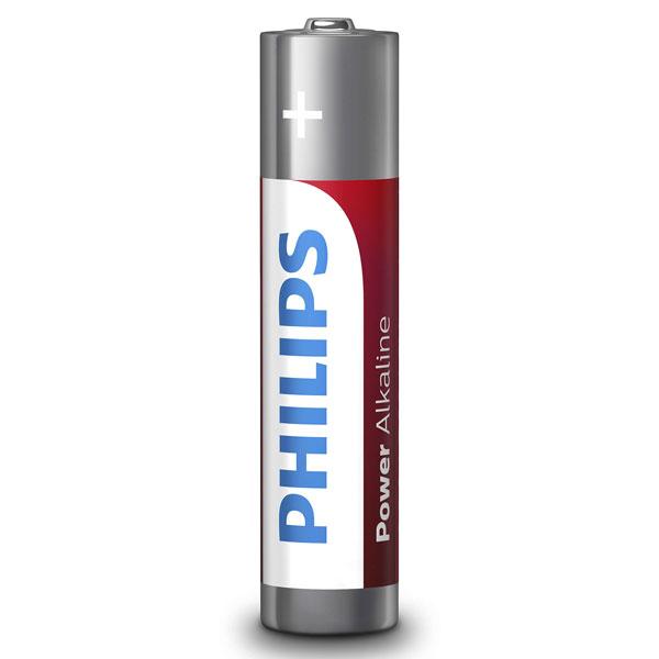 باتری نیم قلمی فیلیپس مدل LR03P24P/97 بسته 24 عددی